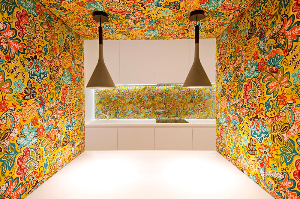 Colorfull Kitchen Design Smartvoll Architects