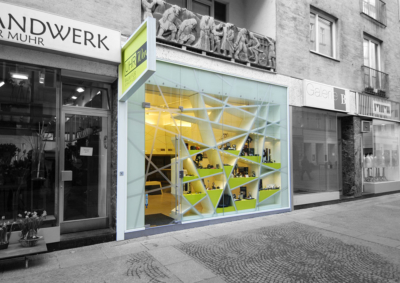 Shop design Design Smartvoll Architects Glas 02