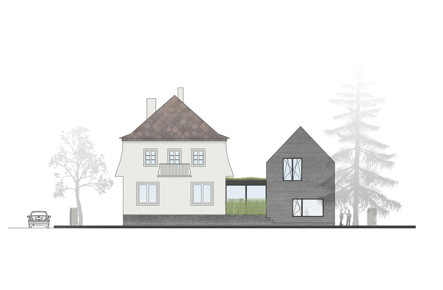 Elevation smartvoll house B