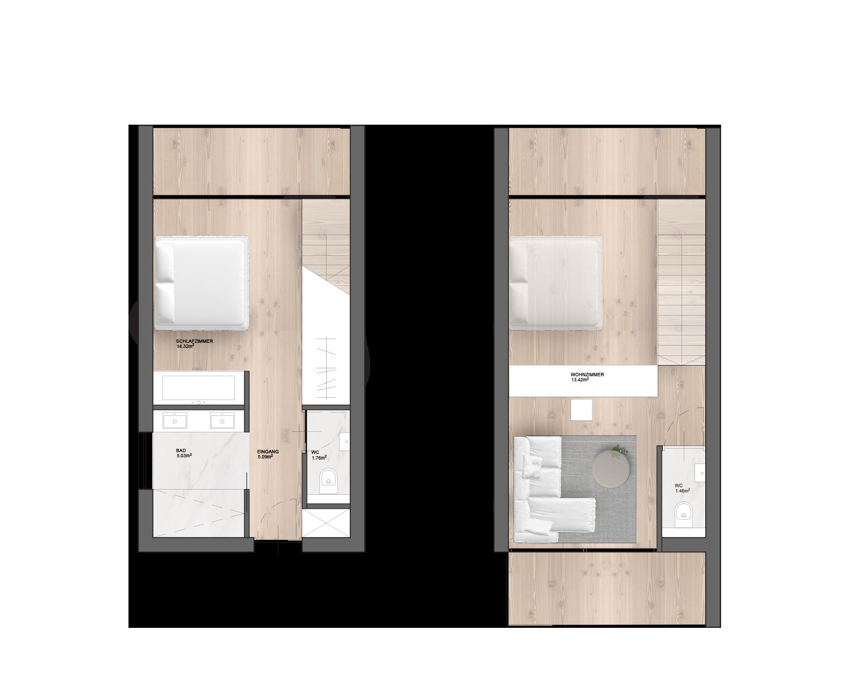Hotel Foorplan Smartvoll Layout