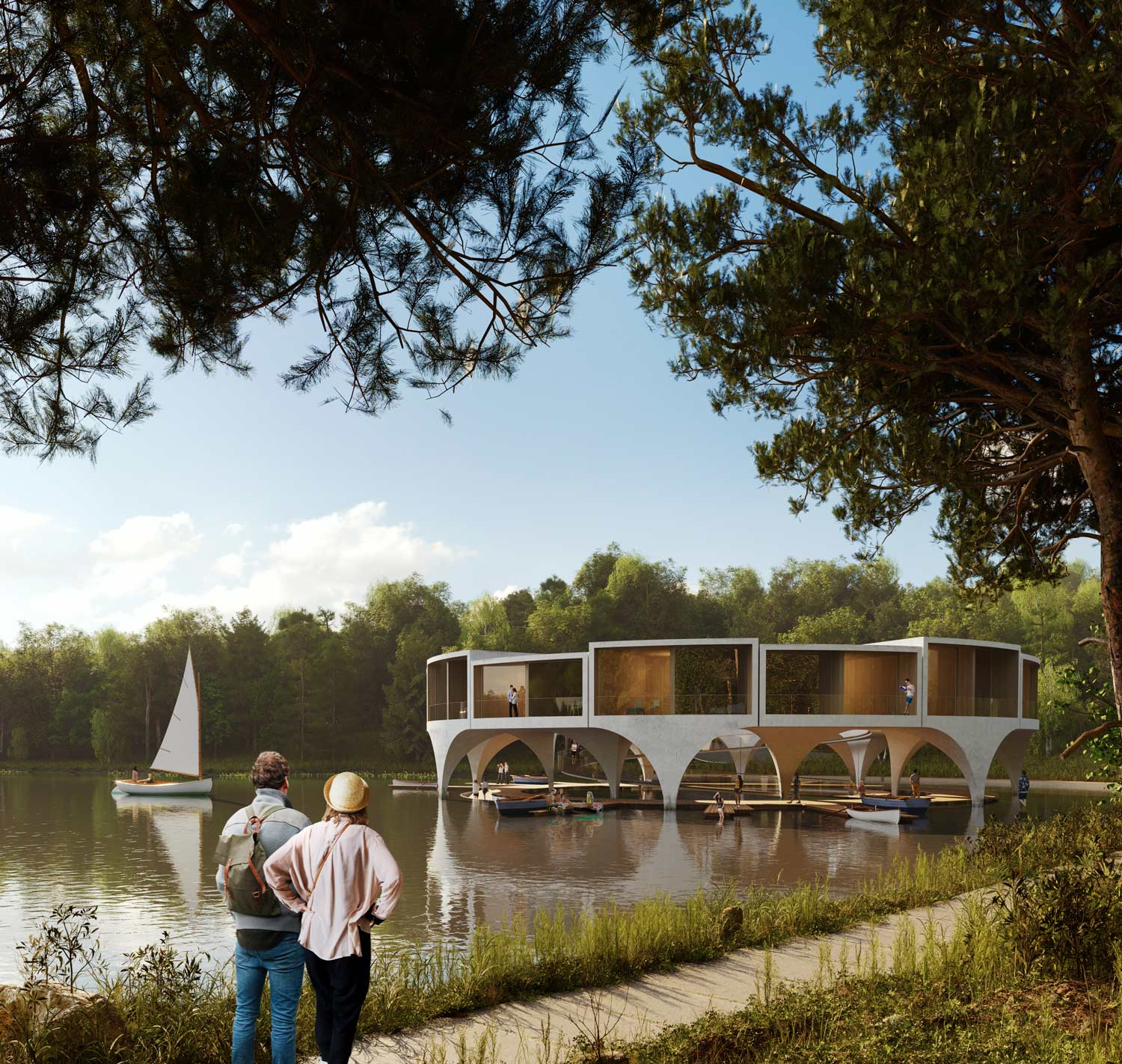 Land Ahoy Smartvoll Architects rendering