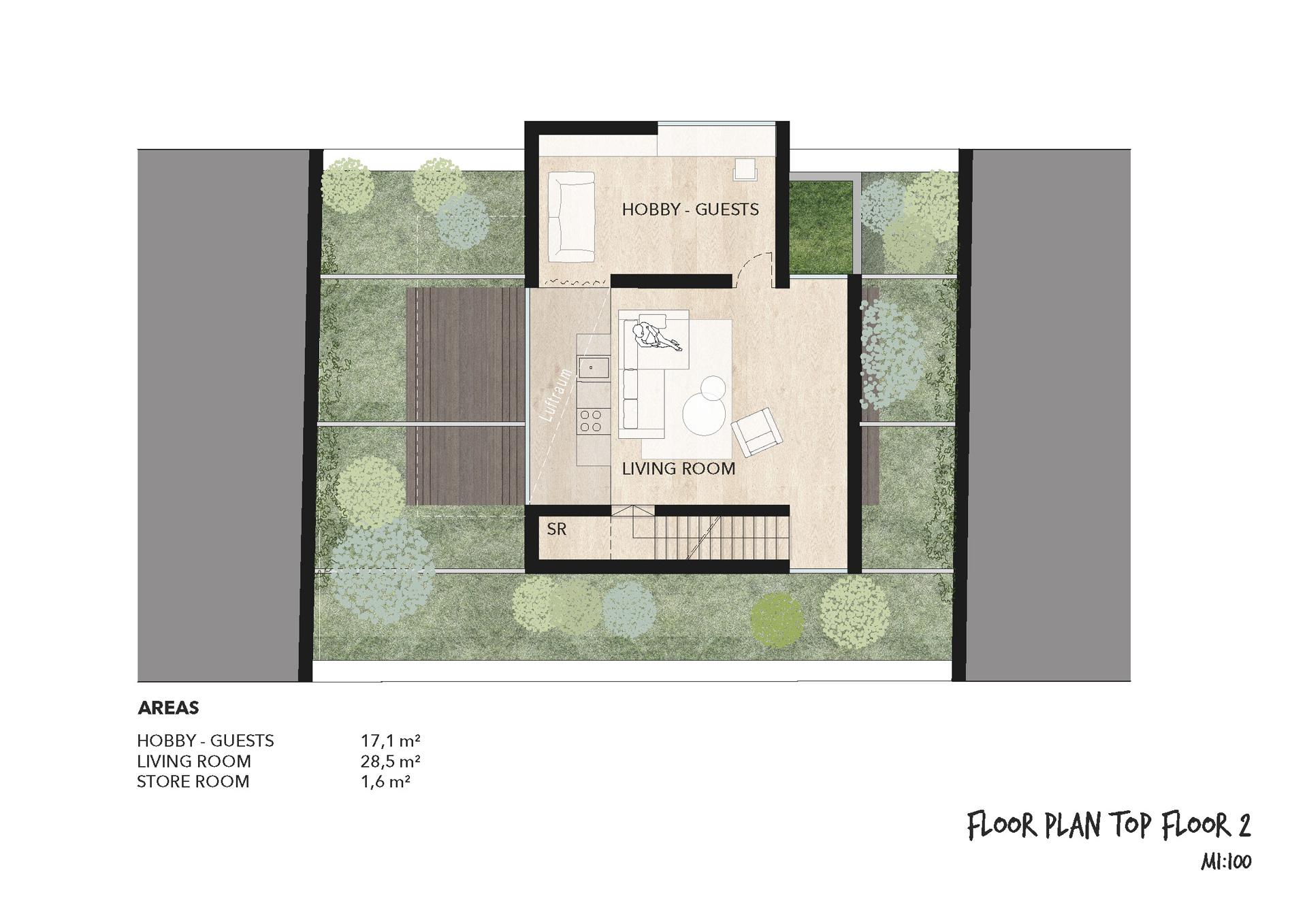Urban Tree House Floor plan