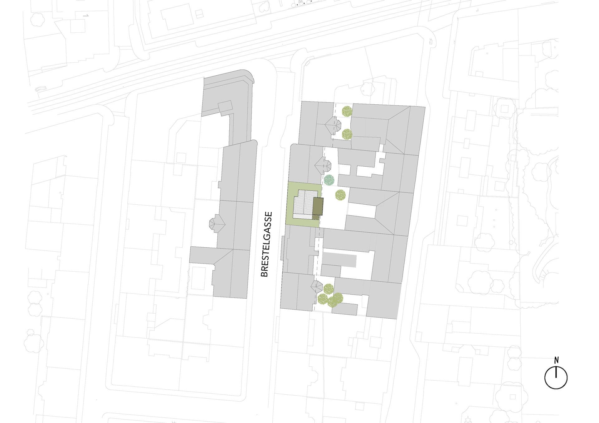 Urban Tree House Site Plan